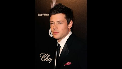 Monteith arrives at The Weinstein Company's 2012 Golden Globe Awards After Party on January 15, 2012, in Beverly Hills, California.