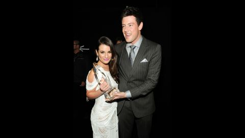 Michele and Monteith  attend the 2012 People's Choice Awards in Los Angeles.