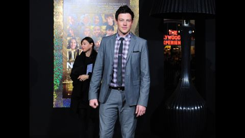 """Monteith attends the premiere of """"New Year's Eve"""" at Grauman's Chinese Theater in Hollywood, California, on December 5, 2011."""