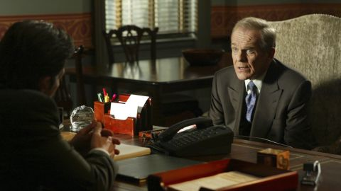 """When John Spencer died of a heart attack in 2005, his character on """"The West Wing,"""" Leo McGarry, suffered the same fate."""