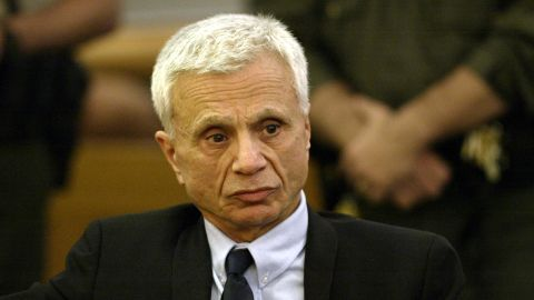 """Former TV star <a href=""""http://www.cnn.com/2005/LAW/03/17/ctv.blake/index.html"""">Robert Blake</a> reacts in a Los Angeles courtroom in 2005 after hearing the announcement of his acquittal. Blake faced murder charges in the death of his wife, Bonny Lee Bakley."""