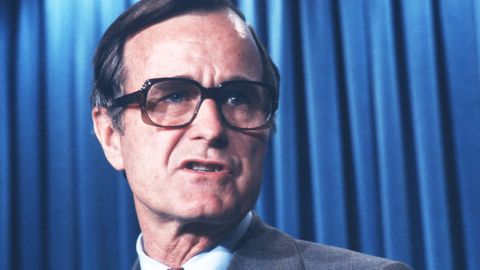 """Vice President George H.W. Bush was en route to Texas at the time of the assassination attempt. Bush immediately headed back to Washington, but the lack of a secure phone line between his plane and the White House contributed a brief sense of confusion within the administration. The result was Secretary of State Alexander Haig's infamous declaration that he was """"in control ... pending the return of the vice president."""""""