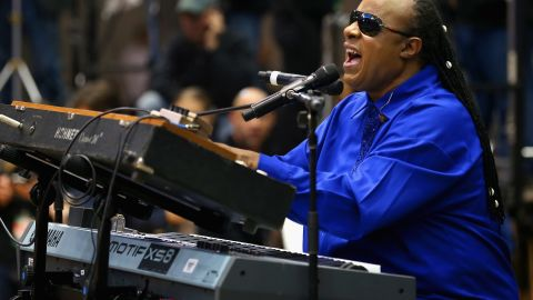 """Musician Stevie Wonder has vowed to stay out of Florida until the state repeals its """"stand your ground"""" law."""