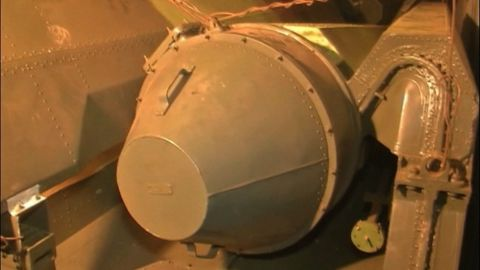 """Military equipment found on a North Korean ship on Monday, July 16, sits on board the ship docked in the Panamanian port of Manzanillo International Terminal. Cuba's Foreign Ministry said the ship contained """"240 metric tons of obsolete defensive weapons"""" sent to North Korea """"to be repaired and returned to Cuba."""""""