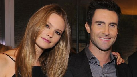 """Model Behati Prinsloo is now married to the """"Sexiest Man Alive,"""" Adam Levine. Here's a look at the """"sexy"""" singer through the years:"""
