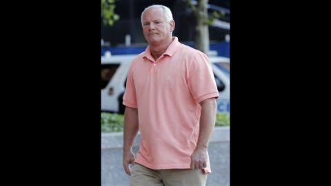 Stephen Rakes, 59, was scheduled to be a witness for the prosecution before he was dropped from the list. His body was found July 17, 2013, in Lincoln, Massachusetts, west of Boston. Rakes' business associate has been charged with his murder.  Authorities said Rakes' killing was unrelated to the Bulger case.