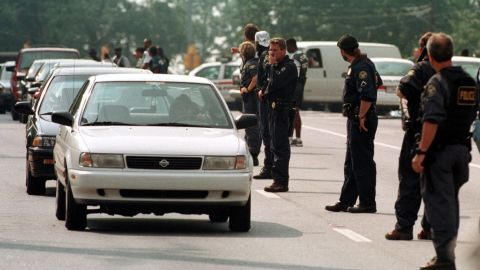 """<a href=""""http://www.cnn.com/US/9907/29/atlanta.shooting.01/index.html?iref=allsearch"""" target=""""_blank"""">Mark Barton</a> walked into two Atlanta trading firms and fired shots in July 1999, leaving nine dead and 13 wounded, police said. Hours later, police found Barton at a gas station in Acworth, Georgia, where he pulled a gun and killed himself. The day before, Barton had bludgeoned his wife and his two children in their Stockbridge, Georgia, apartment, police said."""