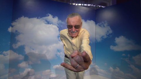 """Stan Lee made headlines for <a href=""""http://www.cnn.com/2015/02/23/entertainment/feat-stan-lee-spider-man-autism/"""">drawing a Spider-Man sketch</a> for an 8-year-old Spidey fan with autism."""