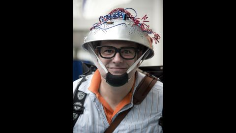"""DanWill McCann chose to come to the convention dressed as a character from """"Ghostbusters"""" on July 19."""