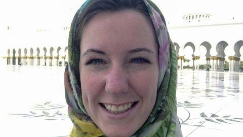 This family handout photo taken in Abu Dhabi in May 2013 shows Norwegian businesswoman Marte Deborah Dalelv, 24.