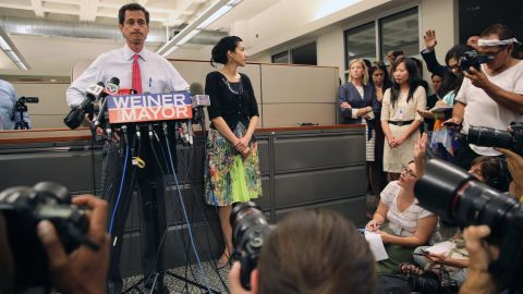 Weiner said some of the exchanges happened after his resignation from the U.S. House in 2011.