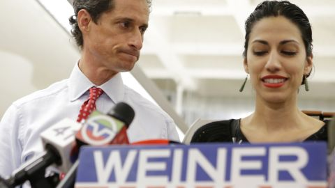 """Weiner said he would not be giving up his mayoral bid.  """"I'm sure many of my opponents would like me to drop out of the race."""""""