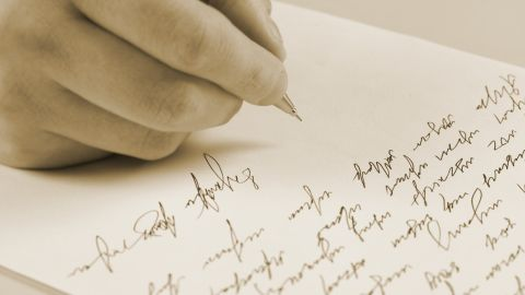 Blame keyboards? A 2012 study found that 33% of people had difficulty reading their own handwriting.