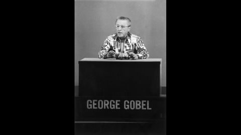 """George Gobel: An actor and comedian best known for """"The George Gobel Show,"""" which ran on NBC from 1954 to 1960."""