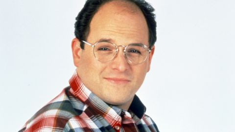 """George Costanza: The long-suffering best friend of Jerry Seinfeld on NBC's """"Seinfeld,"""" portrayed by actor Jason Alexander."""
