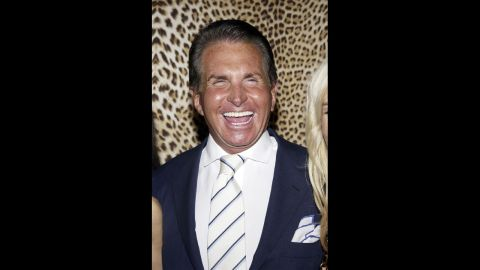 """George Hamilton: Best known for his love of tanning, he also played B.J. Harrison in """"the Godfather Part III."""""""