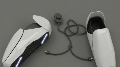 """Rather than bringing dirt into your house, these shoes will clean it up. Looking like something out of Star Wars, the FOKI vacuum shoes are a concept from Indonesian product designer <a href=""""http://www.coroflot.com/crazydylus/portfolio"""" target=""""_blank"""" target=""""_blank"""">Adika Titut Triyugo</a>. They are equipped with a pair of rotary cleaners on the sole of each shoe and a LED display on top that indicates battery life and cleaning progress. So be a trooper and go vacuum."""