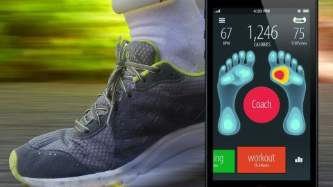 """Thanks to all those gadgets you can attach to your body, there will soon be no excuse not to exercise. And to avoid injuries in the future where everyone will jog to work, Sensoria Socks by <a href=""""http://www.heapsylon.com/welcome-to-sensoria/"""" target=""""_blank"""" target=""""_blank"""">Heapsylon</a> have come up with sensor-equipped textile that couples with an activity tracker to identify injury-prone running styles. Then, using a simple app, it coaches the runner to reduce those tendencies."""