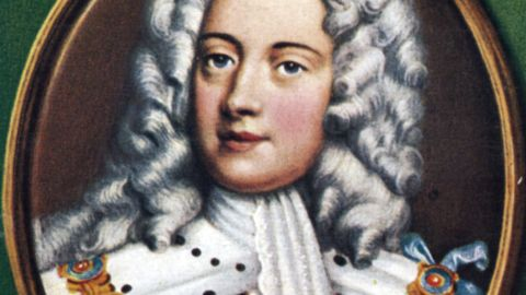 King George II (r. 1727-1760) was the last British sovereign to fight alongside his soldiers at the Battle of Dettingen in 1743. His empire prospered with successful global trade and the beginning of the Industrial Revolution.