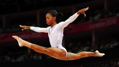 Douglas produced an astonishing showing at the London 2012 Games with a performance which belied her years.