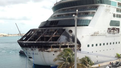 """On Memorial Day 2013, a fire aboard Royal Caribbean's <a href=""""http://www.cnn.com/2013/05/28/travel/royal-caribbean-fire-response/index.html"""">Grandeur of the Seas</a> cut short a seven-day cruise to Port Canaveral, Florida, and the Bahamas. The ship changed its course and sailed under its own power to Freeport in the Bahamas."""