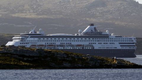 """During a surprise visit in August 2012, CDC inspectors found multiple sanitation violations on the <a href=""""http://www.cnn.com/2012/09/25/travel/cdc-cruise-ship/index.html?iref=allsearch"""">Holland America ship ms Veendam</a> (shown here in March 2012). The CDC found enough violations, including brown liquid dripping on clean dishes and a fly on the buffet, to give the Veendam a failing grade."""