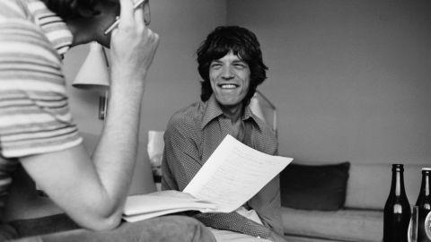 Daily Express entertainment writer David Wigg interviews Jagger in 1973.