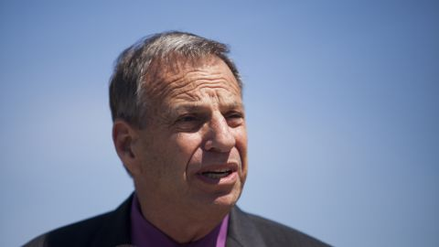 San Diego mayor Bob Filner speaks during a ground breaking ceremony for improvements for the San Diego Trolley system in San Diego, California July 25, 2013. A third woman came forward on July 24, 2013 to accuse the embattled mayor of making unwelcome sexual advances, telling a local television station that he tried to kiss her at a restaurant in 2009. REUTERS/Sam Hodgson (UNITED STATES - Tags: POLITICS) REUTERS /SAM HODGSON /LANDOV   Photographers/Source: SAM HODGSON/Reuters /Landov