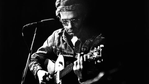 """Musician JJ Cale died Friday, July 26, <a href=""""http://www.cnn.com/2013/07/27/showbiz/jj-cale-obit/index.html"""" target=""""_blank"""">after suffering a heart attack</a>. He was 74. Above, Cale performs at the Carre Theatre in Amsterdam in 1973."""