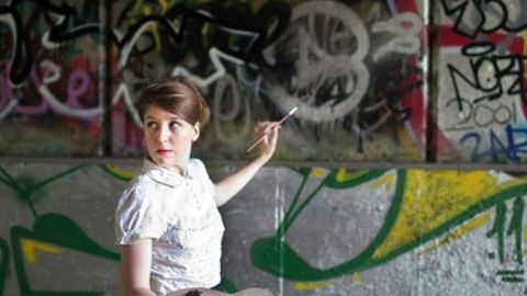 Character comedian Gemma Whelan takes to the Fringe as Chastity Butterworth. - (Courtesy My Heart Skipped a Beat)