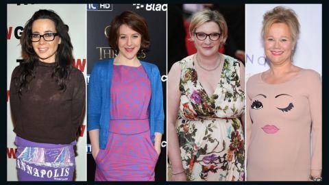 (L-R) Janeane Garofalo, Gemma Whelan, Sarah Millican and Caroline Rhea are bringing female funny to the annual Fringe Festival in Scotland.