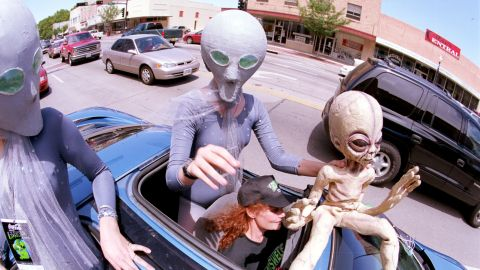 Ever wanted to go UFO spotting? World UFO Day is the time to do it. The day is celebrated on June 24 to commemorate the first UFO sighting, and July 2 in honor of the supposed Roswell UFO crash.