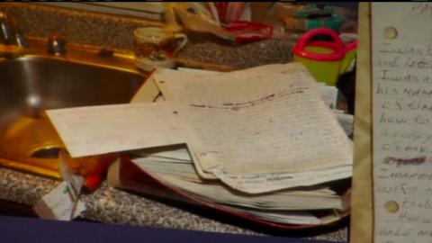 Castro describes himself as a sexual predator in a letter.