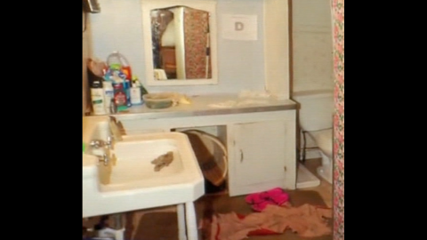 Amanda Berry spent most of her time in this bathroom with her daughter.