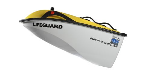 The brainchild of British designer Ross Kemp, ASAP was created as a greener and cheaper alternative to existing lifeguard rescue vehicles.