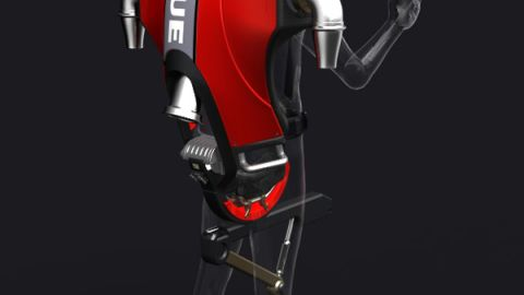 The Jetlev Rescue Jet Pack is a rescue aid befit for a Hollywood film. High pressure water columns thrust the wearer into the air so you can fly over the water and reach areas inaccessible by lifeboat.