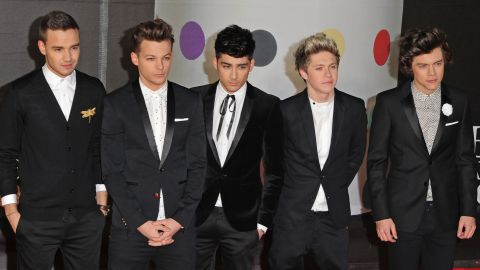 """As One Direction, Liam Payne, Louis Tomlinson, Zayn Malik, Niall Horan and Harry Styles are heartthrobs -- not unlike the Rolling Stones were once upon a time, <a href=""""http://marquee.blogs.cnn.com/2012/11/14/one-direction-like-a-young-rolling-stones/"""" target=""""_blank"""">Mick Jagger told CNN</a>. Malik announced in 2015 that he'd be leaving the group and the remaining members went on hiatus the following year to fans' dismay."""