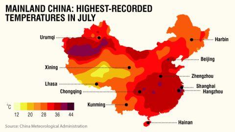 Heat wave - how hot is it?
