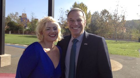 """Emily Gilbert <a href=""""http://www.cnn.com/2013/08/02/us/california-san-diego-mayor/index.html"""">accused Filner of sexual harassment</a> on Friday, August 2. She told CNN she was hired to sing at a fundraising event in December and the mayor grabbed her, slid his hand down the small of her back and gave her """"tush a pat."""" He then asked her: """"Oh, Marilyn, can I get your card?"""" she recalled."""