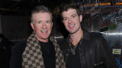 """Nearly everyone has heard 2013's song of the summer -- Robin Thicke's """"Blurred Lines"""" -- but you may not realize the R&B singer's dad, Alan Thicke, played Jason Seaver on the popular ABC sitcom """"Growing Pains,"""" which ran from 1985 to 1992. Now the son is just as well-known as his dad. <a href=""""http://www.cnn.com/2016/12/13/us/alan-thicke-dead/index.html"""">Alan Thicke died December 13.</a>"""