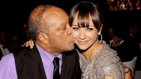 """You might think that Rashida Jones would have found it difficult to step out from the shadow of her dad, Quincy Jones, the legendary music producer behind such acts as Ray Charles and Michael Jackson. But the actress has charted her own course, starring in TV series such as """"Boston Public"""" and """"Parks and Recreation"""" in addition to the movies """"I Love You, Man"""" and """"The Social Network."""" Maybe she got the acting bug from her mom, Peggy Lipton, of """"The Mod Squad"""" and """"Twin Peaks"""" fame."""