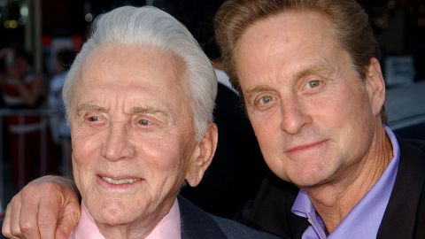 """""""I'm Spartacus!"""" So proclaimed Kirk Douglas as the title character of the famous 1960 Stanley Kubrick epic. Douglas, one of the biggest stars of Hollywood's golden age, would have been a lot for any kid to look up to. Nevertheless, son Michael has become as much of an icon as his old man, with more than four decades in show business."""