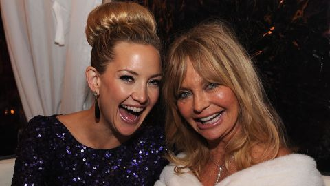 """Kate Hudson has a knack for comedy in movies such as """"How to Lose a Guy in 10 Days"""" and TV shows such as """"Glee."""" You could say it runs in the family: Her mom, Goldie Hawn, won an Oscar for her first major movie role, the 1969 comedy """"Cactus Flower."""""""