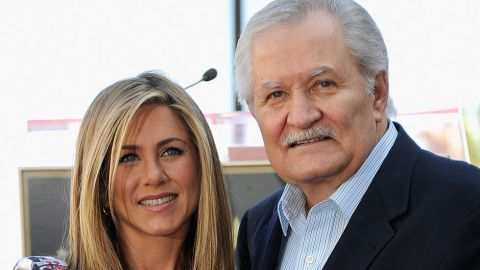 """Jennifer Aniston's dad, John Aniston, is most famous for his decades-long stint on daytime soap """"Days of Our Lives."""" Jennifer also found the small screen crucial to her success: The actress became a household name as Rachel Green on the sitcom """"Friends."""""""