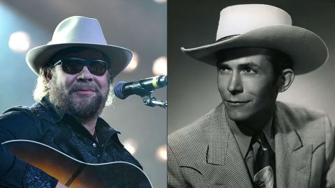 """Country star Hank Williams Jr. inherited his dad's name, trade and fame. The senior Hank Williams was a legend in the annals of country music as the singer-songwriter behind such tunes as """"Your Cheatin' Heart,"""" """"I'm so Lonesome I Could Cry"""" and """"Hey, Good Lookin'."""" The elder Williams' work left its mark on his son. The latter has established himself as a well-known musician with his own spin on country fused with Southern rock and blues."""