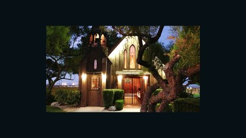"""The <a href=""""http://www.littlechurchlv.com/"""" target=""""_blank"""" target=""""_blank"""">Little Church of the West</a> is listed on the National Registry of Historic Places -- the only venue on the Las Vegas strip with that designation."""