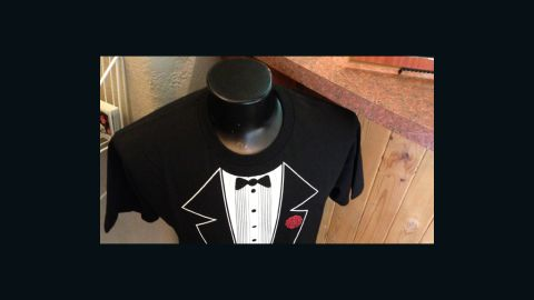 Airline lose the groom's tuxedo? Viva Las Vegas' gift shop has it covered.