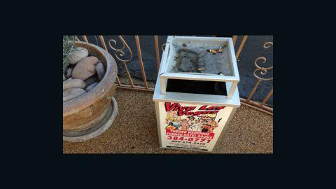 Even the ashtrays are themed at Viva Las Vegas.