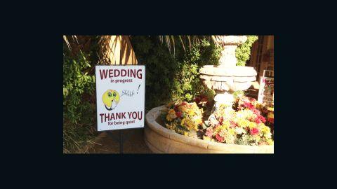 Shhhh! There's a wedding on at Viva Las Vegas!