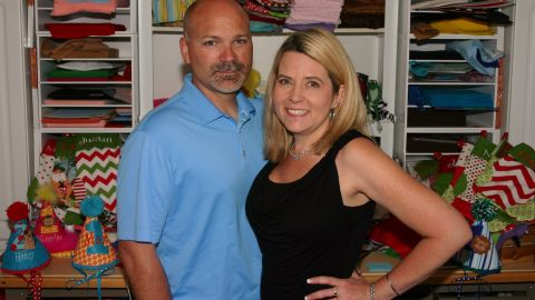 """After being laid off from their construction jobs, <a href=""""http://ireport.cnn.com/docs/DOC-1006727"""">Heather and Mike von Quilich</a> found inspiration through Etsy and Heather's love of crafting."""